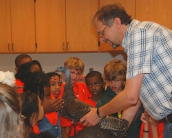 Third-graders Explore Science at Field Station
