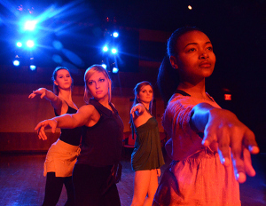 PHILLIP WALLER | The Daily Mississippian Mississippi: The Dance Company performing November 2012.