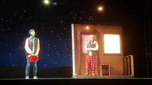 """""""Almost, Maine"""" performance, Photo: Ashton Dawes/The Daily Mississippian"""