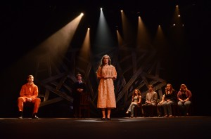 UM students perform 'The Laramie Project' at Fulton Chapel in September 2013.