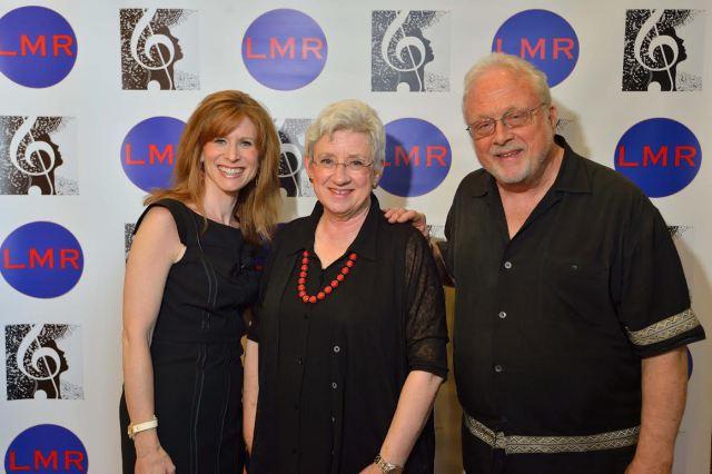 Nancy Maria Balach (from left), Joan Morris and William Bolcom | Photo courtesy of Nancy Maria Balach