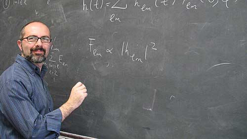 Emanuele Berti, professor of physics and astronomy