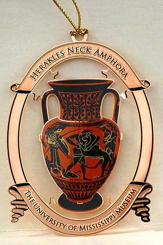 The 2015 University of Mississippi Museum keepsake ornament