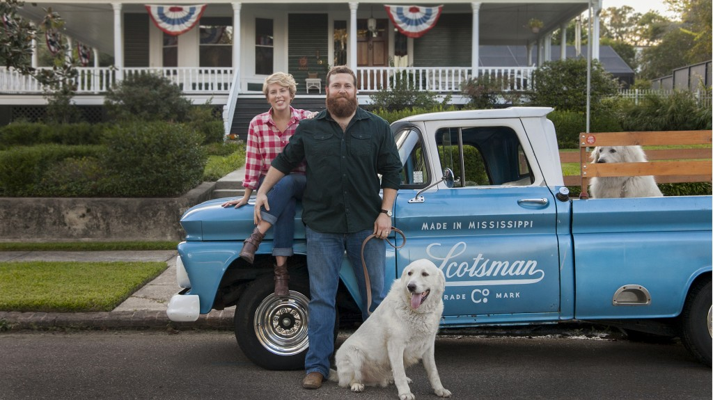 """The pilot episode of """"Home Town,"""" hosted by Erin and Ben Napier, airs on HGTV Sunday, Jan. 24 at 11 a.m. CST."""