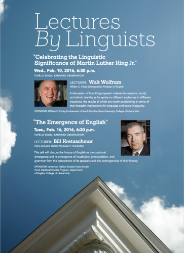 linguist lectures posters
