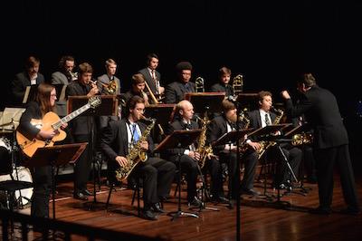 Mississippians Jazz Ensemble | Photo by Kevin Bain/ UM Communications