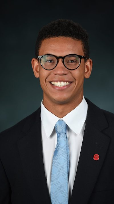 ASB President Austin Powell is a finalist for the prestigious Rhodes Scholarship. Photo by Kevin Bain/UM Communications