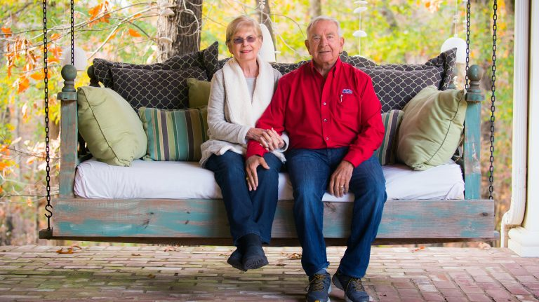 With a $1 million gift to UM, Dr. Don and Lynne Davis have established endowments that support both academic scholarships and Ole Miss athletics. Photo by Bill Dabney