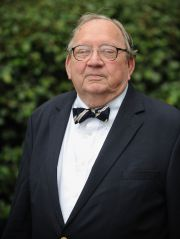 Professor Emeritus Harry P. Owens, who taught history at the university for more than 35 years.