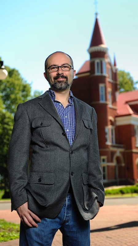 Emanuele Berti, assistant professor of physics and astronomy, co-authored a recent article published in Physical Review Letters. Photo by Robert Jordan/Ole Miss Communications