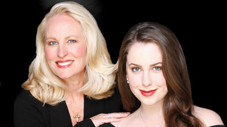 Mary Donnelly Haskell (left) and daughter Mary Lane Haskell are coming to the Lyric March 5 in a benefit concert for the UM Department of Music. (Submitted photo)