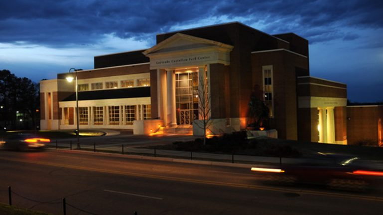 Marty and John Dunbar established the Jazz Series Fund at the Gertrude C. Ford Center for the Performing Arts with a $25,000 gift. Photo by Kevin Bain/Ole Miss Communications