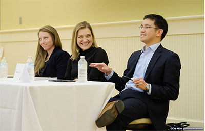 Jessica Bryant, Erin Callahan, and Anthony Yuen