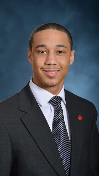 Daniel Curtis Roberts, a 2014 UM public policy graduate from Moss Point, now works as an account executive for Edelman, the world's largest communications marketing firm,in New York. Photo by Kevin Bain/Ole Miss Communications