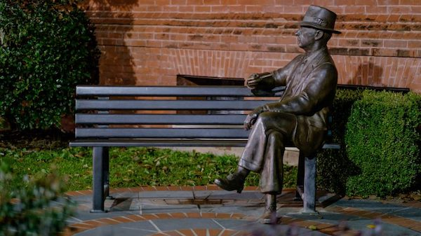 Nobel Prize-winning author and UM alumnus William Faulkner's short stories will be the focus of UM's 2018 Common Reading Experience. Photo by Robert Jordan/Ole Miss Communications
