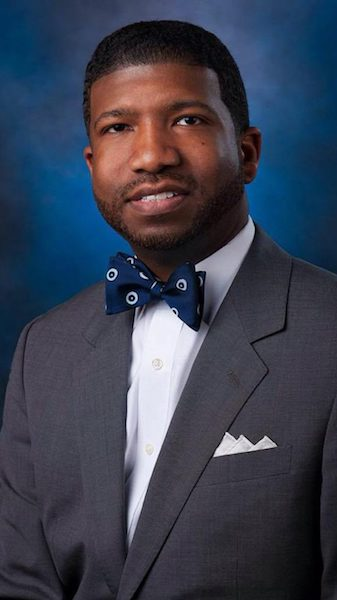 The Rev. Carroll Edward Rhodes II, pastor of the Mt. Helms Baptist Church in Jackson and a UM alumnus, will deliver the keynote address during the community's annual Martin Luther King Jr. Day observance. Submitted photo