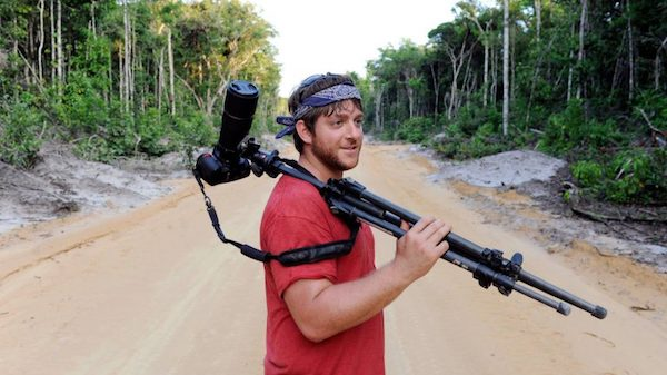 UM doctoral student Andrew Snyder has made 10 trips to Guyana for various research and conservation efforts. Submitted photo by Liz Condo
