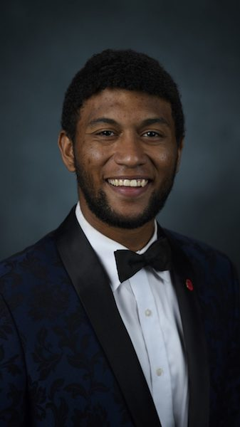 Terrius Harris is an international business and French major.