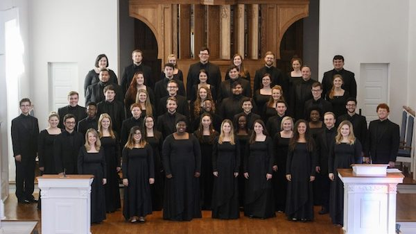 The University of Mississippi Concert Singers are set to perform twice this weekend in New York City, including a Sunday concert at Carnegie Hall. Photo by Kevin Bain