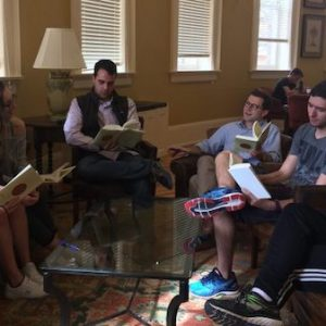 Neil A. Manson, University of Mississippi professor of philosophy, has establish a reading group on the works of Alvin Plantinga, one of the world's most influential philosophers of religion. Photo courtesy of Neil A. Manson