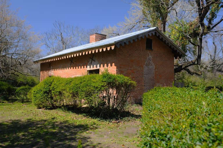 The UM Slavery Research Group is hosting Joseph McGill to talk about the preservation of slave dwellings. McGill will host an overnight stay in the old kitchen behind Rowan Oak for select students and faculty members. Photo by Robert Jordan/Ole Miss Communications