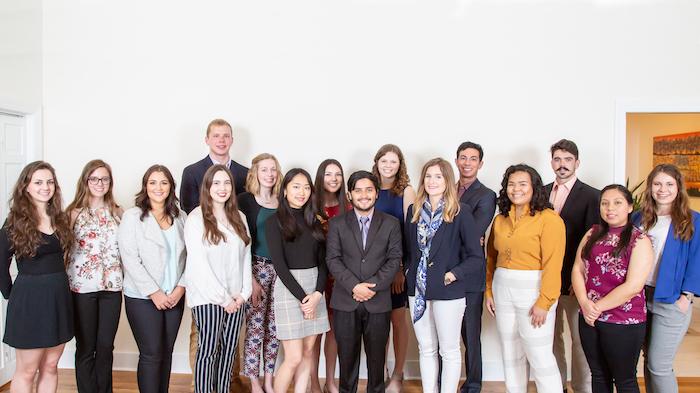 Freeman Foundation 2018 summer grantees