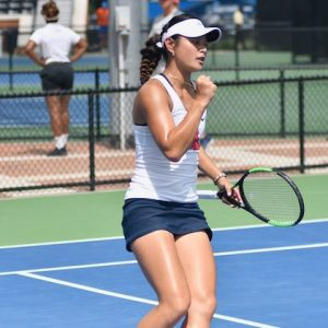 Arianne Hartono Aces Academics and Athletics
