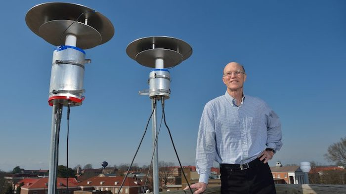 Thomas Marshall (pictured) and Maribeth Stolzenburg, a pair of University of Mississippi professors of physics and astronomy, have been granted two National Science Foundation awards to study lightning initiation.Photo by Robert Jordan/Communications