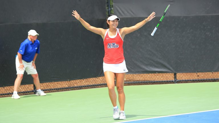 Arianne Hartono is the first Honda Sports Award winner in Ole Miss history. With a record of 37-6 this season, she finished the year winning 17 straight matches.