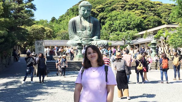 UM student Gwenafaye McCormick spent the 2017-18 academic year studying at Waseda University, a private, independent research university in central Tokyo.