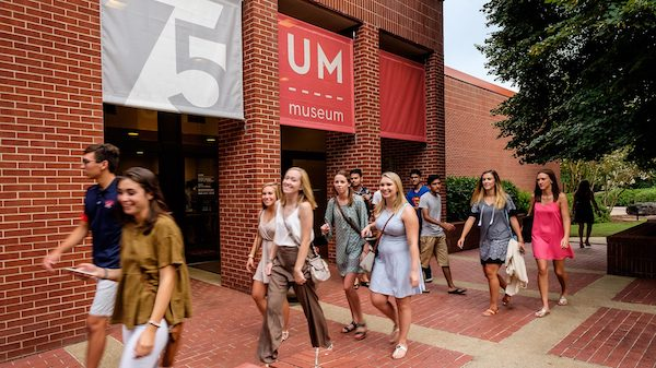The University of Mississippi Museum has been named one of EdSmart's '51 Most Astounding University Museums.' Photo by Kevin Bain/Ole Miss Digital Imaging Services