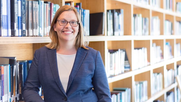 Jennifer Meyer, a visiting assistant professor of physics and astronomy from Massachusetts Institute of Technology, will discuss the discovery if liquid water on one of Saturn's moons Sept. 18 at Uptown Coffee.