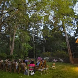 Students and Faculty Spend the Night on Rowan Oak Grounds