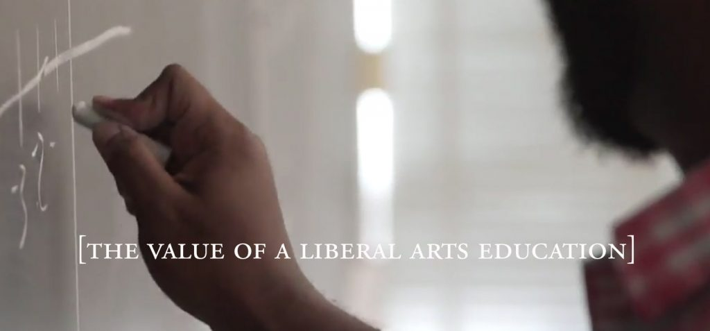 The Value of a Liberal Arts Education Video