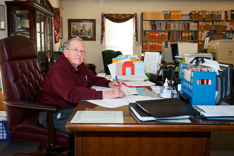 These days, Will St. Amand can be found working as a volunteer in the genealogy room of the Lafayette County-Oxford Public Library.