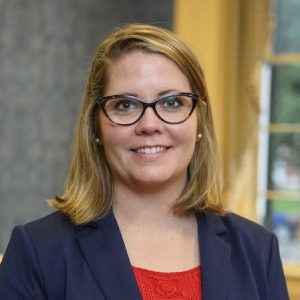 Annie Cafer, UM assistant professor of sociologyi, has been awarded a prestigious Andrew Carnegie Fellowship. She is the first UM faculty member – and the first faculty member from a Mississippi university – to receive the fellowship. Photo by Thomas Graning