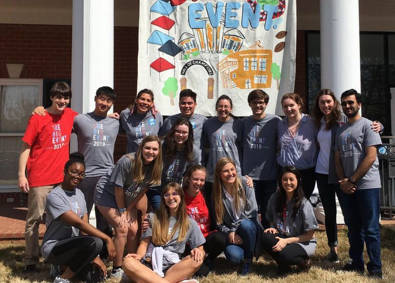Students in the Stamps Scholars program at the University of Mississippi work as volunteers last spring in the annual Big Event. With 13 new students arriving this fall – the program's second-largest group of incoming freshmen in the nation – Ole Miss has the nation's fourth-largest Stamps Scholars program.