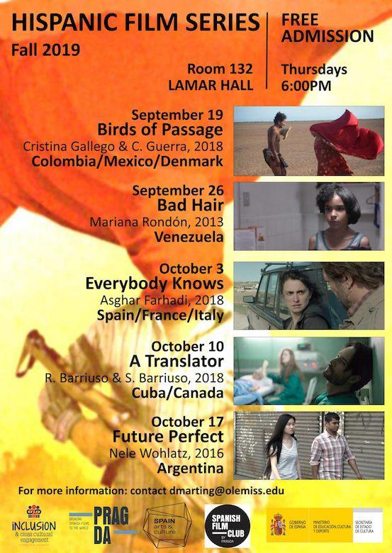 Hispanic Heritage Film Series