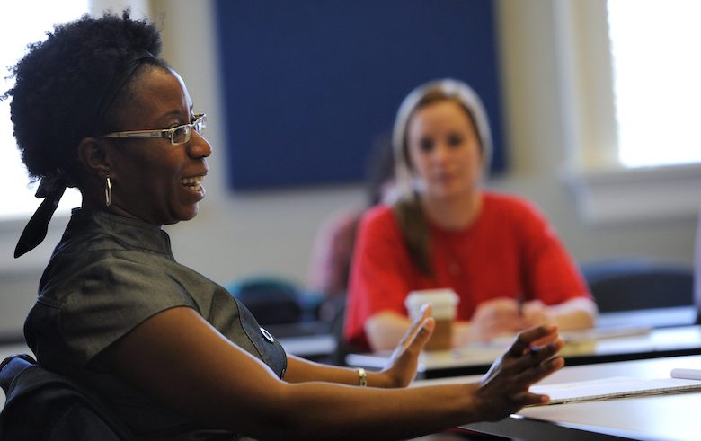 Southern studies and anthropology professor Jodi Skipper is teaching SST 103: South and Race this fall as part of the revamped Southern studies curriculum. Photo by Kevin Bain
