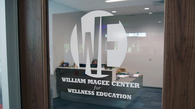 The University of Mississippi unveils the new William Magee Center for Wellness Education on Friday (Sept. 6). The alcohol and other drugs education and prevention facility is housed in the new South Campus Recreation Center and will strengthen wellness resources and support to Ole Miss students.